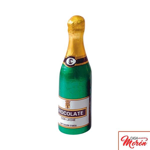 Simon Coll - Botella de champagne de chocolate mediana