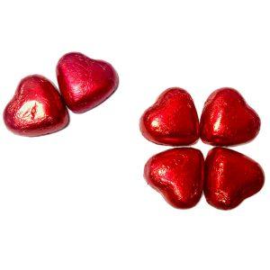Sorini - Corazón rojo de chocolate con leche