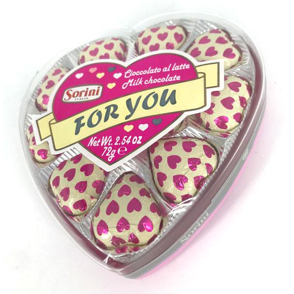 Sorini - Cajita de bombones corazón For You