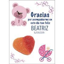 Tarjeta de Agradecimiento de Bautizo