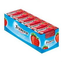 Chicles Trident Grageas Fruit Fresa