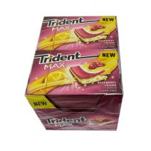 Chicles Trident Max raspberry