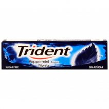 Chicles Trident Stick Menta