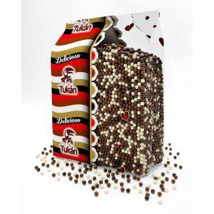 Tukan - Topping de bolitas de 3 chocolates