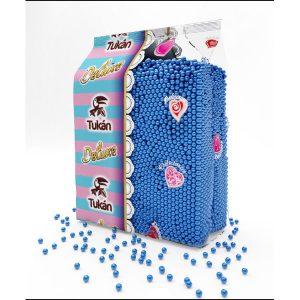 Tukan - Topping de bolitas azules