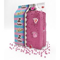 Tukan - Topping de bolitas rosas