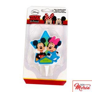 Vela de Mickey y Minnie
