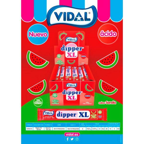 Vidal - Dipper XL Sandía ácida