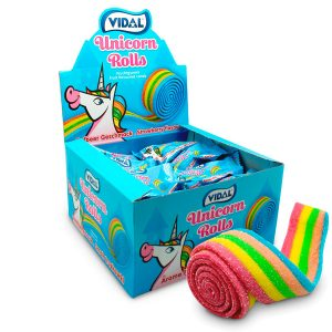 Vidal lenguas Unicorn Rolls